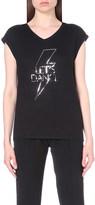 Claudie Pierlot Transe jersey t-shirt