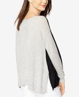 Autumn Cashmere Maternity Cashmere Reversible Sweater