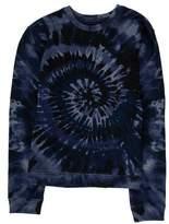 Valentino Tie-Die Crew Neck Sweater
