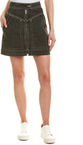 Isabel Marant Etoile Lorine Stitched Denim Pencil Skirt