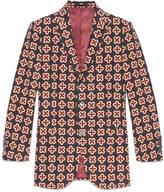 Gucci Monaco geometric print jacket