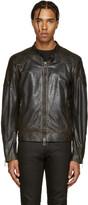 Belstaff Black Leather Outlaw Jacket