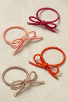 Anthropologie Bow Hair Tie Set