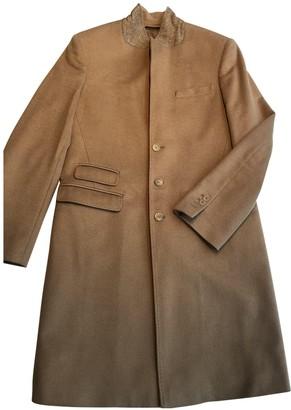 Neil Barrett Camel Wool Coats