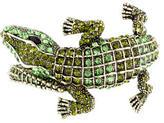Kenneth Jay Lane Crystal Alligator Cuff