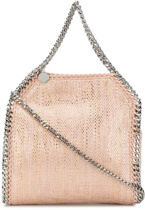 Stella McCartney tiny metallic Falabella crossbody bag