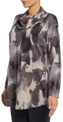 M&Co VIZ-A-VIZ cowl neck tunic