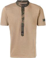 Hydrogen contrast trim T-shirt - men - Cotton - S