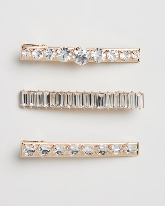 Johnny Loves Rosie Jewel Hair Clips 3-Pack