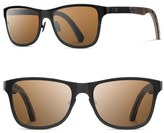 Shwood Canby 54mm Polarized Pine Cone & Titanium Sunglasses