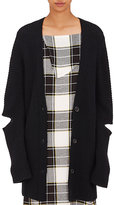 Public School Women's Merino Wool-Blend Oversized Cardigan-BLACK