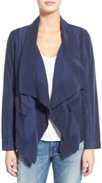 Splendid Canyondale Drape Front Mixed Media Jacket