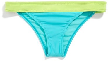 Roxy 'Neon Tide' Low-Rise Bikini Bottoms