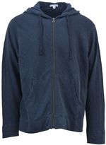 James Perse Blue Hooded Jacket