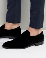 HUGO BOSS BOSS HUGO by Dressapp Velvet Slip On Loafers