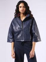 Diesel DieselTM Leather jackets 0DAPG - Blue - M