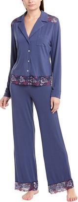 Cosabella Savona 2Pc Pajama Pant Set
