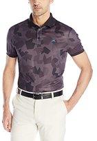 J. Lindeberg Men's Camo Lightweight Regular-Fit Golf Polo Shirt