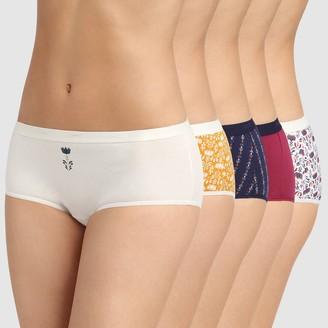 Dim Pack of 5 Les Pockets Cotton Shorts
