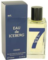 Iceberg Eau De Cedar Eau De Toilette Spray for Men (3.3 oz/97 ml)