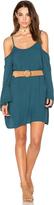 Michael Lauren Gillis Bell Sleeve Dress