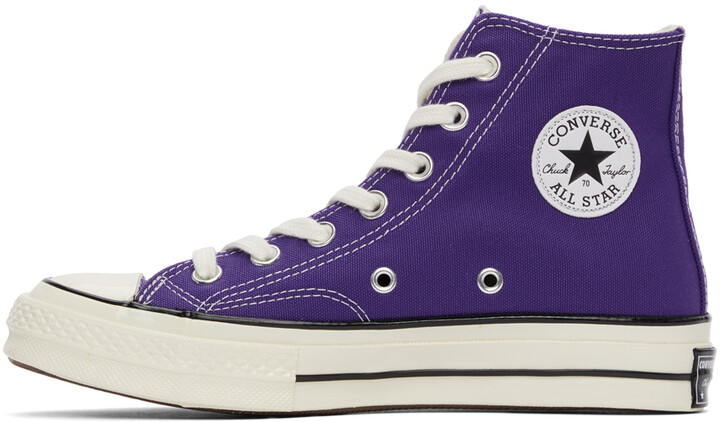 Thumbnail for your product : Converse Purple Chuck 70 High Sneakers