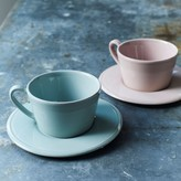Graham and Green Colette Cups And Saucers