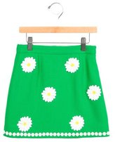 Dolce & Gabbana Girls' Embroidered Wool Skirt w/ Tags