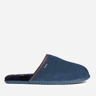 Ted Baker Men's Parick Suede Slippers - Dark Blue