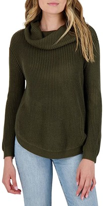 BB Dakota Forest For The Trees Sweater (Army Green) Women's Clothing