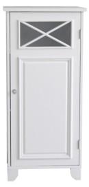 Elegant Home Fashions Dawson Floor Cabinet With One Door