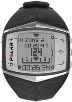 Polar FT60M Mens Heart-Rate Monitor Chronograph Black Strap Watch
