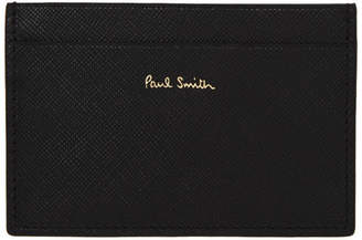 Paul Smith Green Striped New Mini Card Holder