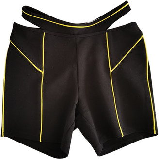 I.AM.GIA Black Synthetic Shorts