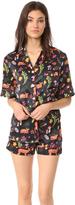 Karen Mabon Forest Fawns Short PJ Set