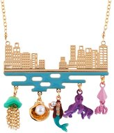 Les Nereides N2 by I AM A MERMAID CITY AND UNDERWATER LIFE NECKLACE - Multicolor - OS