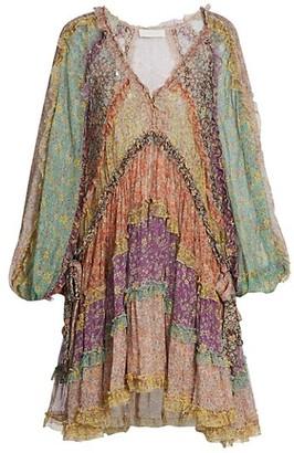 Zimmermann Carnaby Frill Dress