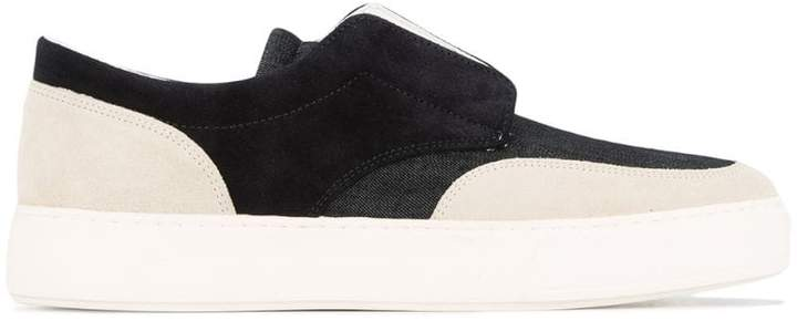 Cerruti slip-on boat shoes