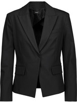 Theory Brince Cotton-Blend Crepe Blazer