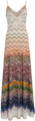 Missoni Ombre Knit Chevron Slip Dress