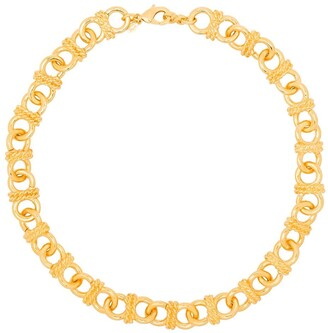 Kenneth Jay Lane Infinity chain-link necklace