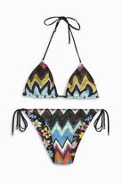 Missoni ZigZag Lame Classic Bikini