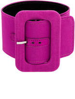 ATTICO rounded rectangle buckle belt