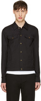 3.1 Phillip Lim Black Denim Shirt Jacket