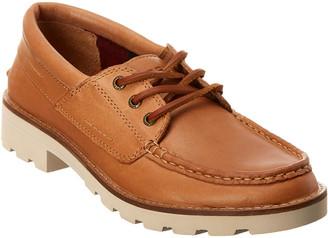 Sperry A/O Lug Leather Boat Shoe