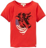 Appaman Print Tee (Toddler/Kid) - Washed Red-7