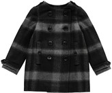 Burberry Checked Antwood Coat