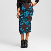 Who What Wear Women's Midi Pencil Skirt