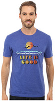 Life is Good Waves w/ Gulls Cool Tee
