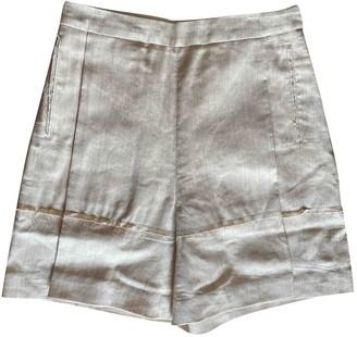 Litkovskaya Beige Cloth Shorts for Women